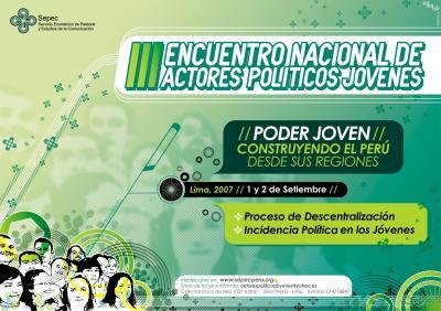 III ENCUENTRO NACIONAL DE ACTORES POLITICOS - III ENAP